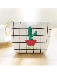 Mini portefeuilles cactus