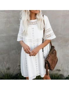 robe été blanche