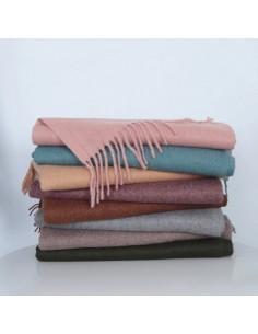 Echarpe cachemire et laine