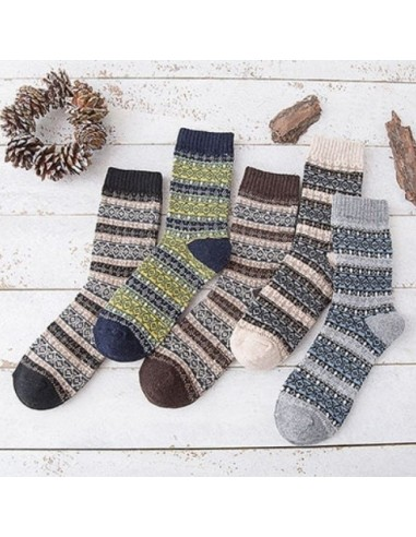 Lot de chaussettes norvégiennes