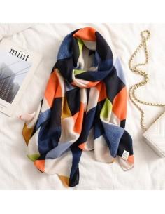 Foulard en coton de qualité