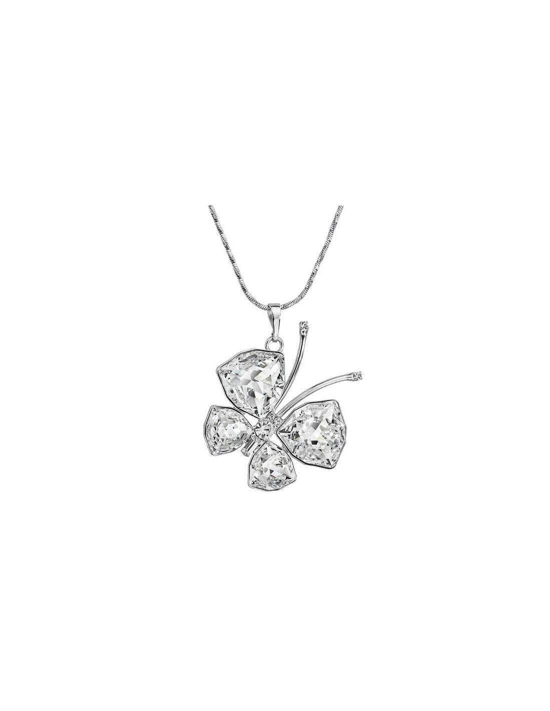 Superbe collier papillon - Swarovski