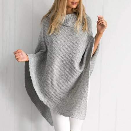 Poncho en laine