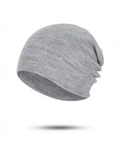 Bonnet avec strass