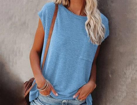 t-shirt femme tendance